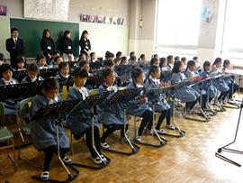 1年生「音楽」の授業