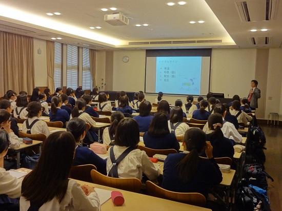 ブログ写真 大学出張授業 京都薬科大学.JPG